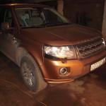 land rover freelander в гараже